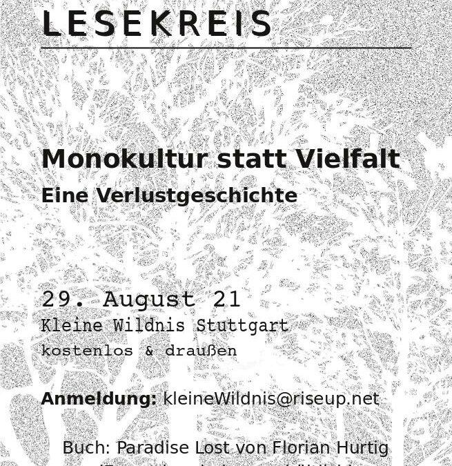 29.08.21 Lesekreis Geschichte der Monokultur